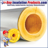 Fiberglass Pipe Insulation is used on Hot/Cold Water, Chilled Liquid, Steam Piping, and other dual temperature systems up to 1000°F