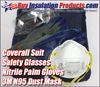 Professional Insulator Kit comes with everything you need to install fiberglass pipe insulation.