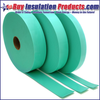 Green Glue Noiseproofing Joist Tape helps dampen footstep noise on floor joints along with reducing frictional noise from subflooring rubbing on the joists.