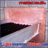 MetaCaulk Fire-Rated Mortar is used to fill large wall and ceiling penetrations through Fire Rated Structures.