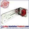 Resilmount A48R Angled Resilient Clip Bracket