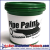 Pipe Paint Vapor Sealing Mastic (Quart)