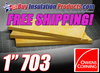 "Owens Corning 703 1"" Thickness Acoustic Fiberglass Board with Free Shipping"