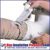 "Fiberlock Wet Wrap 'N' Seal (6"" Width) is used to encapsulate asbestos containing materials."