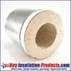 Calcium-Silicate High Temperature Pipe Insulation Supports are used at clevis hanger and other pipe support points to prevent pipe insulation from being crushed or squished.