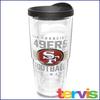 Jumbo Tervis  24 oz NFL Brand Travel Mug San Francisco 49ers