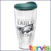 Jumbo Tervis  24 oz NFL Brand Travel Mug Philadelphia Eagles