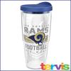 Jumbo Tervis  24 oz NFL Brand Travel Mug Los Angeles Rams