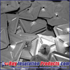 """1-1/2"""" x 1-1/2"""" Square Self-Locking Washers for 12 ga Perforated and Self-Sticking Insulation Hanger Pins."""