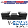 IsoMax Resilient Sound Isolation Clips  from Kinetics Noise Control