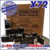 Kinetics IsoMax Sound Isolation Clips (Case of 72)