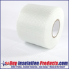 """3"""" Wide Roll of Glass Fab with Adhesive Backing"""