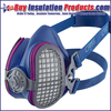 GVS Elipse Half-Face P100 Respirator (Includes Filters)