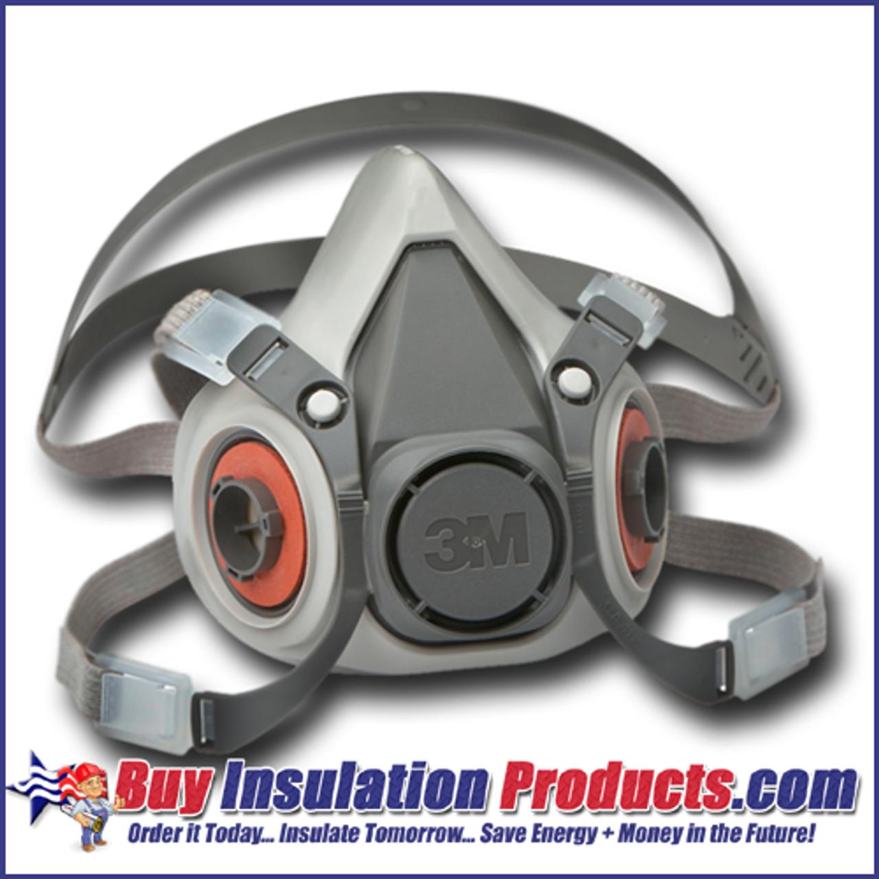 3m 6000 series half mask asbestos abatement respirator