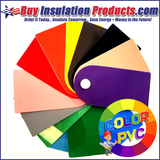 Color PVC Sample Pinwheel Now Available!