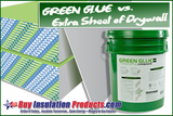 Adding Green Glue Noiseproofing Compound vs. Just Adding Drywall to Wall