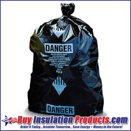 Black Asbestos Bags
