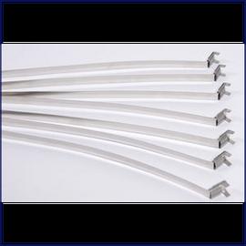 """Aluminum Fab Straps 1/2"""""""