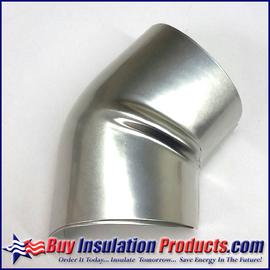 Aluminum 45 Degree Elbow Cover