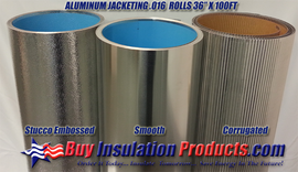 Aluminum Jacketing Rolls