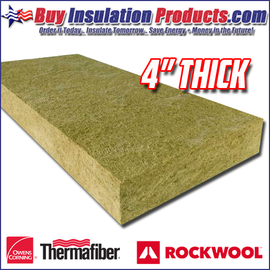 "4"" Mineral Wool FireStop Safing"