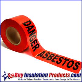 Red Barrier Tape (Danger Asbestos)
