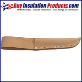"Leather Knife Sheath for up to 6"" Blades"