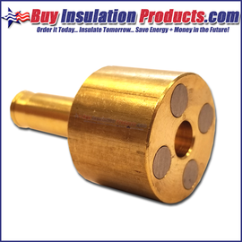 Brass Magnetic Collet