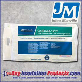 Johns Manville Industrial Group CalCoat-127 High Temp Finishing Cement