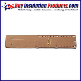"Leather Knife Sheath for 6"" Rubber Knife"