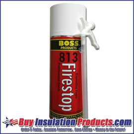 Boss 813 Firestop Foam (12 oz)