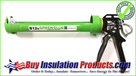 Official Green Glue Noiseproofing Compound and Sealant Applicator Gun