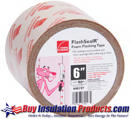 "Owens Corning Foamular FlashSealR Tape (6"" wide)"