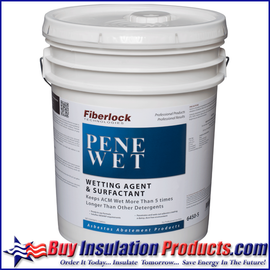 Fiberlock PeneWet Asbestos Wetting Agent / Surfactant (5 Gallon)