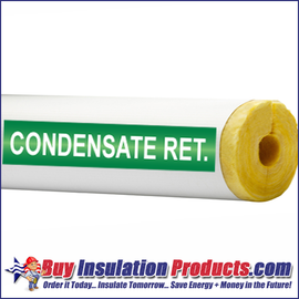 Condensate Ret. Pipe ID Label (Green/White)