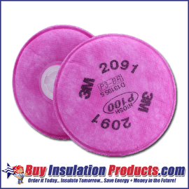 3M P100 Asbestos Filter (Pair)