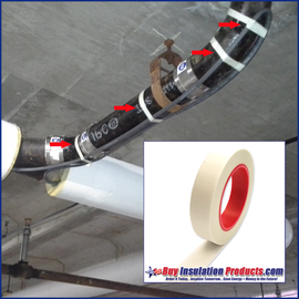 High Temp Heat Trace Tape (Silicone Adhesive)