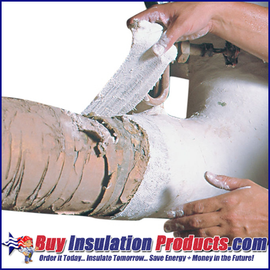 "Fiberlock Wet Wrap 'N' Seal (6"" Width) is used to encapsulate asbestos containing materials."
