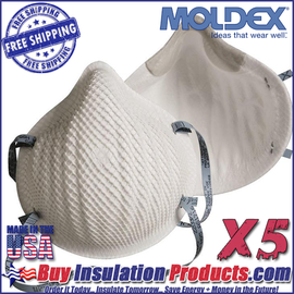 Moldex N95 Dust Masks (Pack of 5)