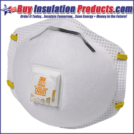 3M 8511 N95 Dust Masks with Exhalation Valves