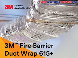 Estimating How Much 3M Fire Barrier Duct 615+ Duct Wrap is Needed