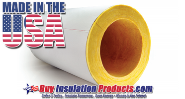 Installing Fiberglass Pipe Insulation Adjacent to a Flue Pipe or Boiler Casing