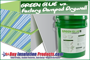 Green Glue vs. Quiet Sheetrock