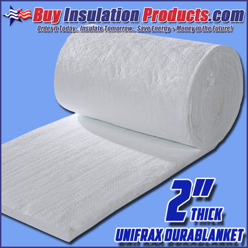 Unifrax Durablanket S Ceramic Blanket is a thermal insulator along with providing  fire protection in high temperature applications.