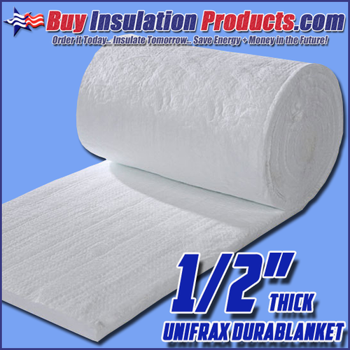 Unifrax Durablanket Ceramic Insulation Blanket is a great thermal and fire protection for high temperature applications.
