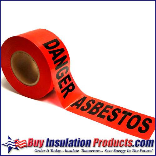 Red Barrier Tape (Danger Asbestos)