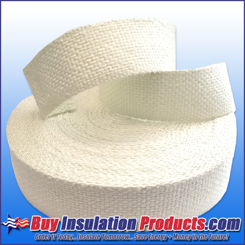 "2"" Wide Woven Fiberglass High Temp Tape"