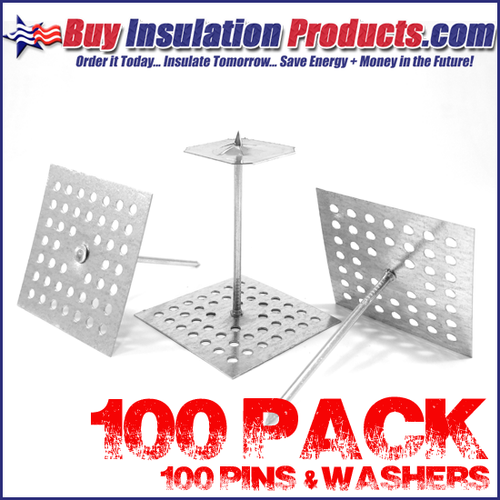 "2-1/2"" Perforated Insul Hangers w/Washers"