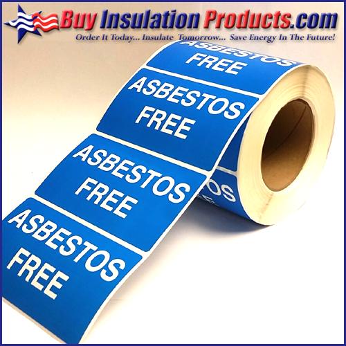 Asbestos Free Labels