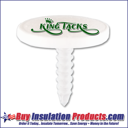 King Tacks Stainless PVC Tacks